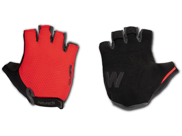 Cube Natural Fit WS X Kurzfinger Handschuhe red